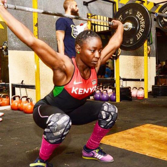Winnie Okoth - Olympic Weightlifting