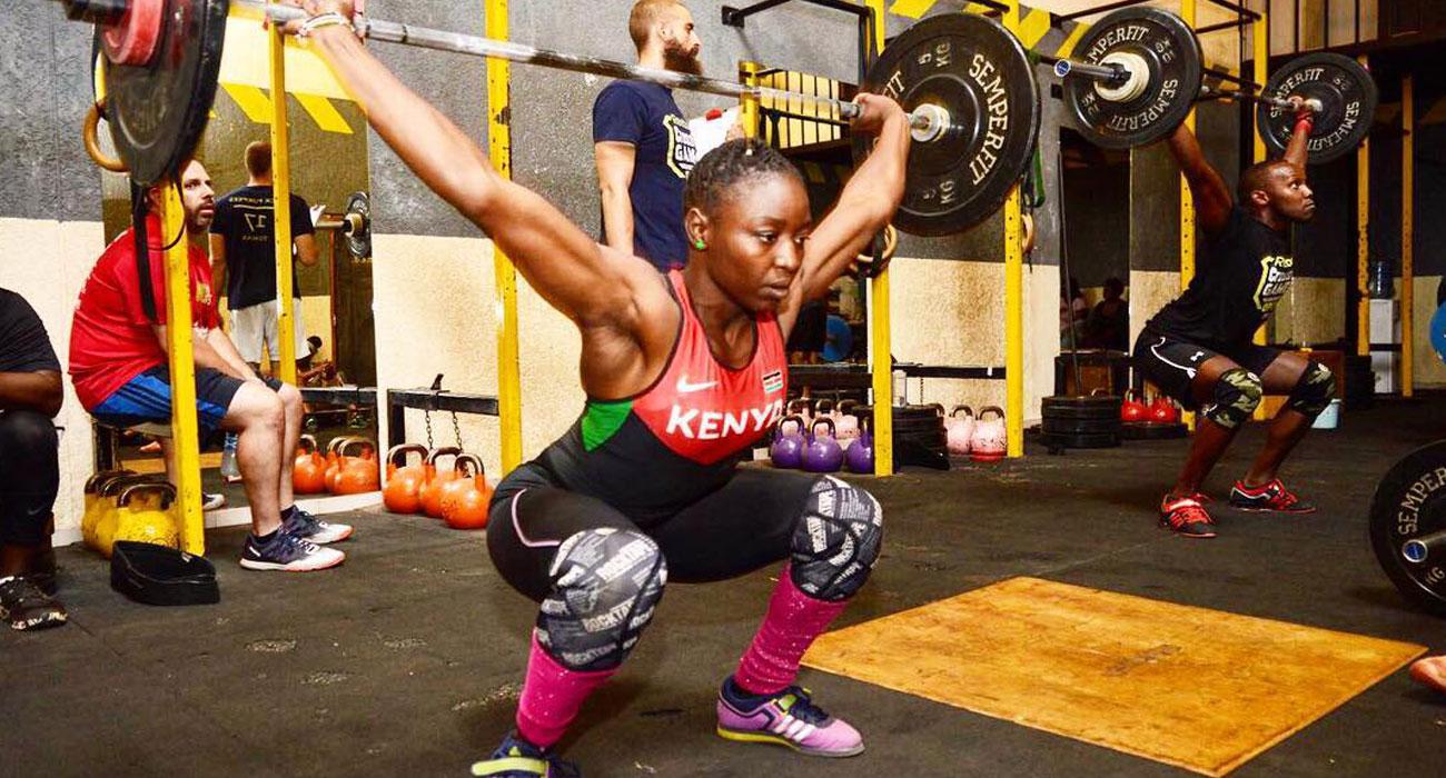 Winnie Okoth - Olympic Weightlifting